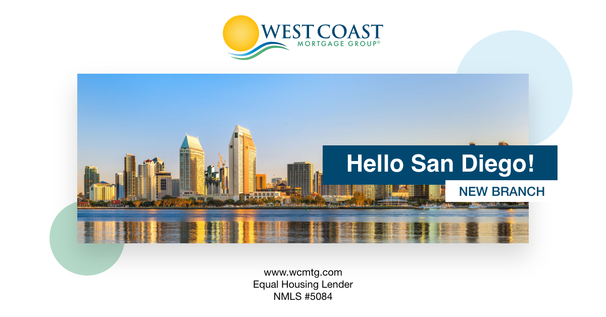 west coast mortgage group san diego