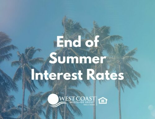 End of Summer Interest Rates